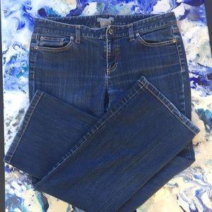 Ann Taylor slim fit jeans, size 10 petite